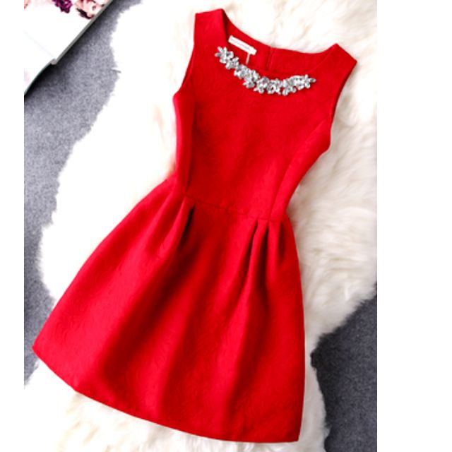 NEW DRESS size 8-10 and12 - Red