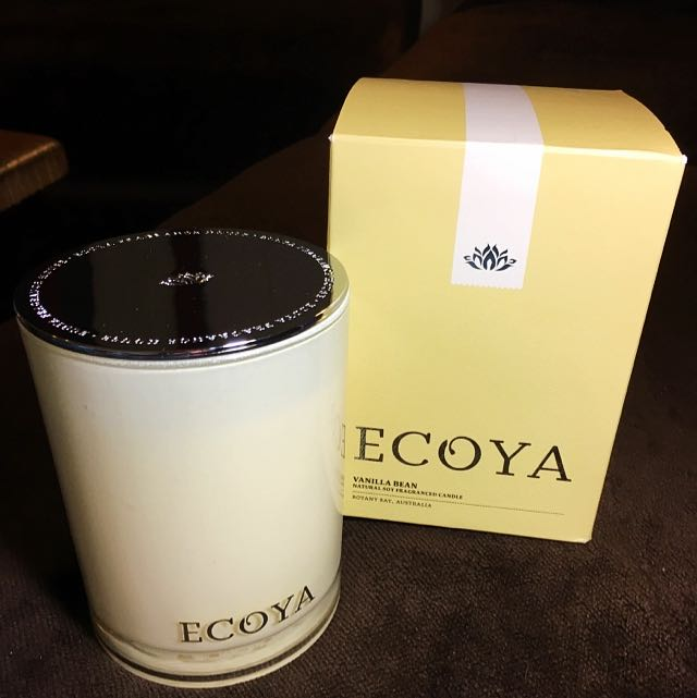 UNDER OFFER: NEW Ecoya Madison Jar Vanilla Bean natural soy fragranced candle