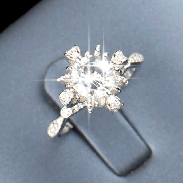NEW Ring- LUXURY BRIDAL WEDDING ENGAGEMENT- size 9 and 7