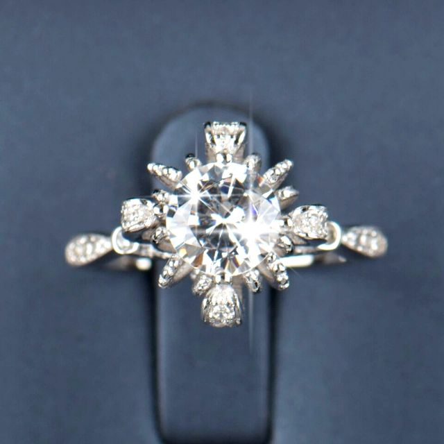 NEW Ring- LUXURY BRIDAL WEDDING ENGAGEMENT- size 9 and 7