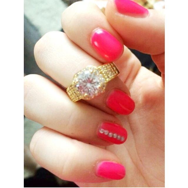NEW Ring- LUXURY BRIDAL WEDDING- size 9 and 7