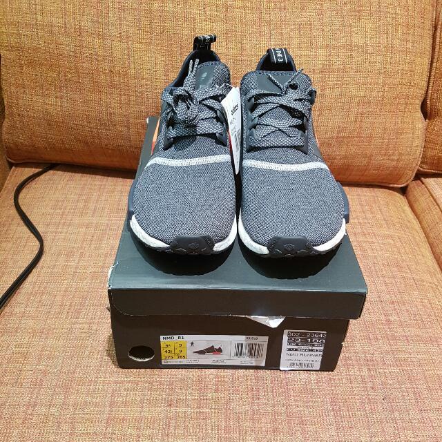 Nmd Dark Grey size 9.5 us $210