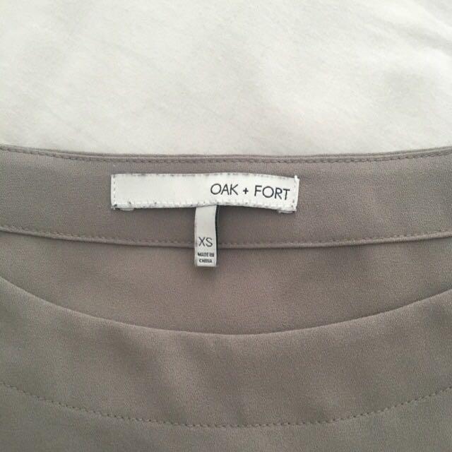 OAK + FORT dress 3050