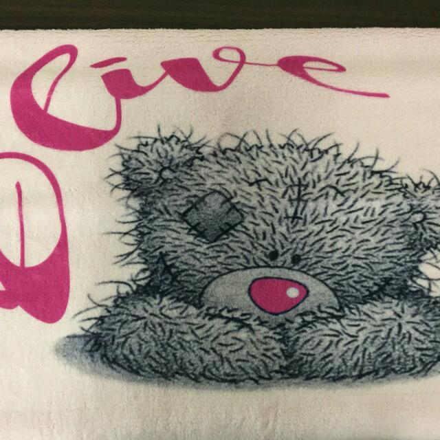 Personalised Teddy Bear Blankets