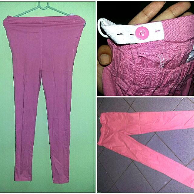Pink Dennis Cotton Pants
