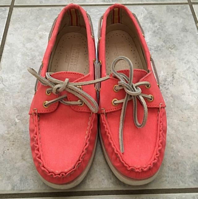 Pink Sperry x J.Crew Top Siders