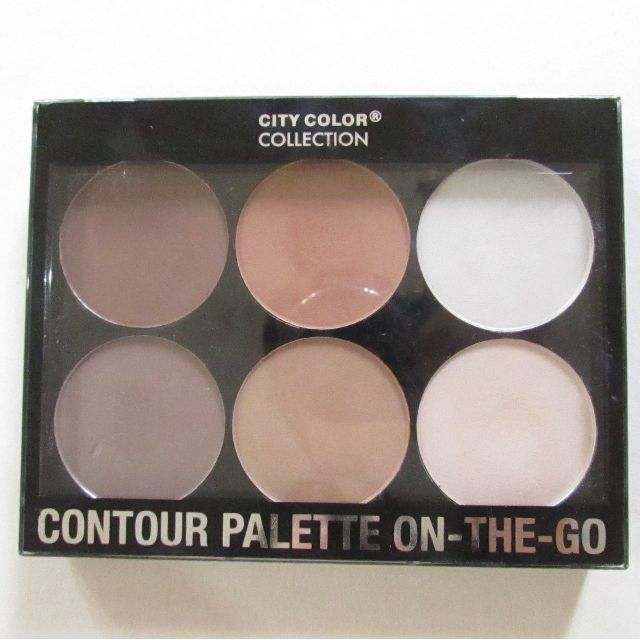 PRELOVED City Color Contour Palette On-The-Go