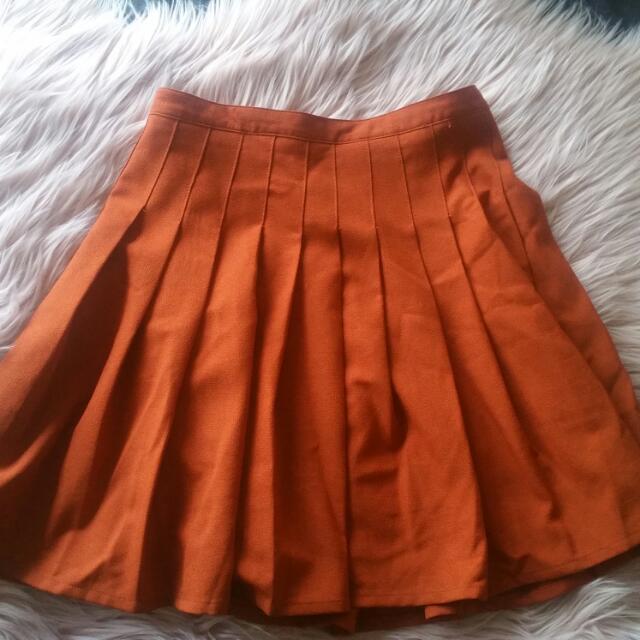 Princess Highway Pleated Mini Skirt