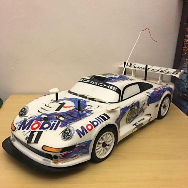 Rc - 1/10th Scale Nitro Touring Car