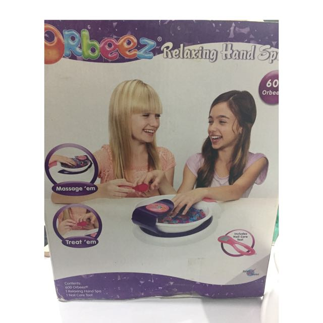 Relaxing Hand Spa For Kids