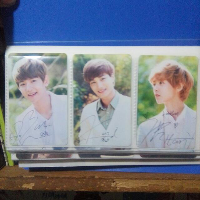 Replica Photocards EXO