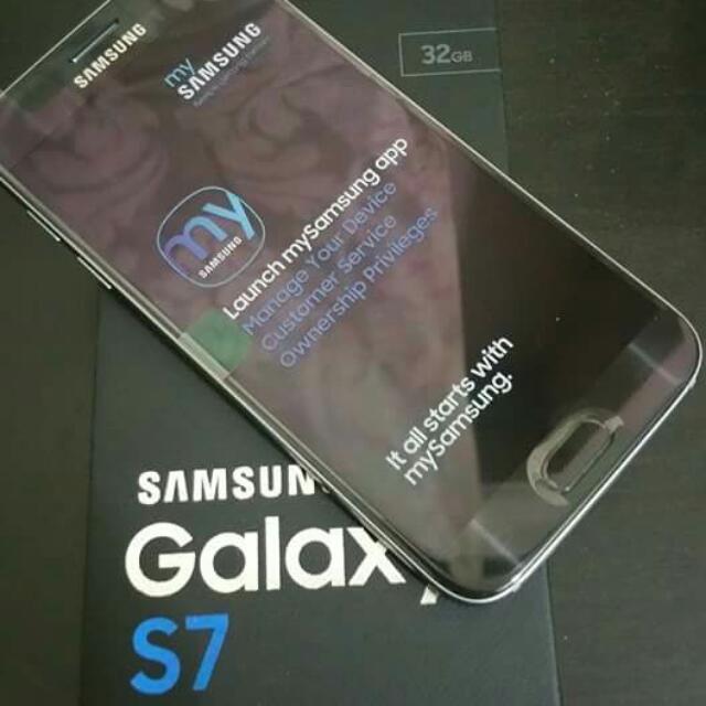 SAMSUNG S7 (32gb) BLACK