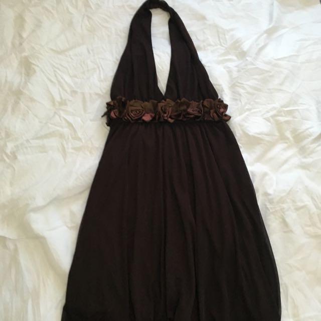 Semi Formal Halter Dress