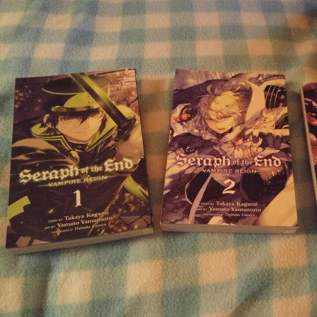 Seraph Of The End Vol.1-3