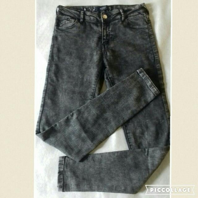 Skinny Low Rise Denim (Bershka)