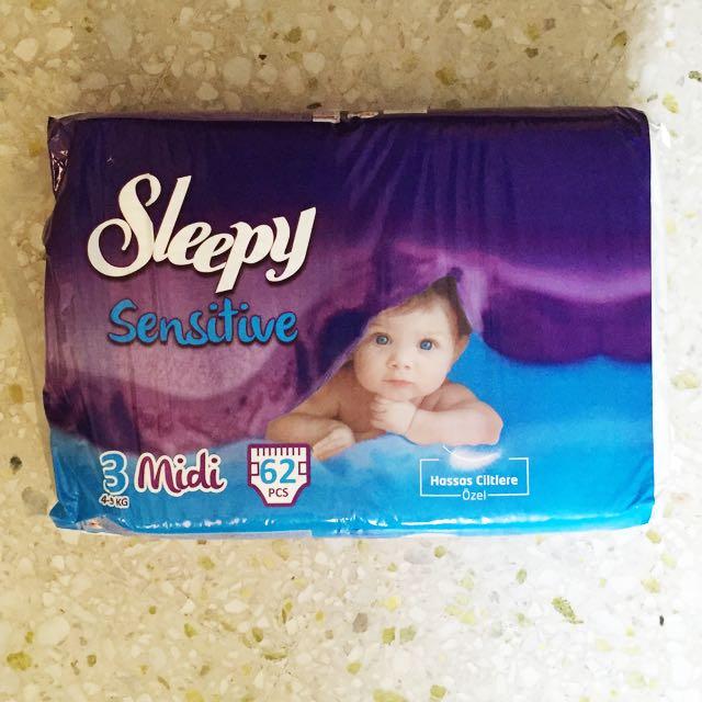 092660ef22db Sleepy Diapers (62 pcs + 46 pcs)