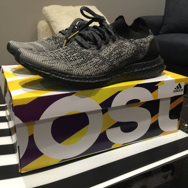 Uncaged All Black Ultra Boost