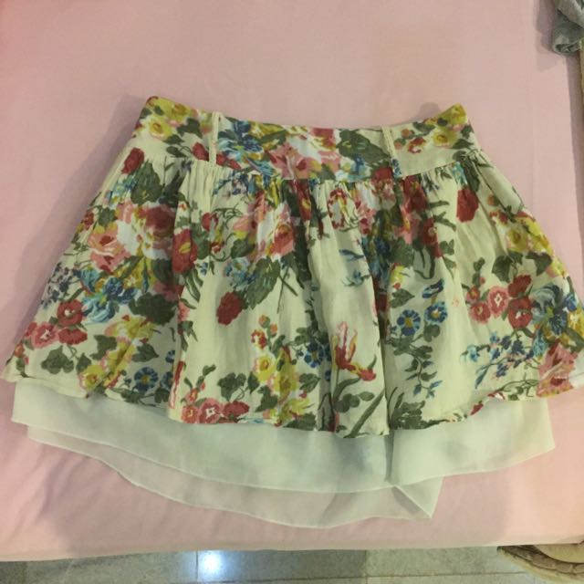 Urban Twister Floral Skirt