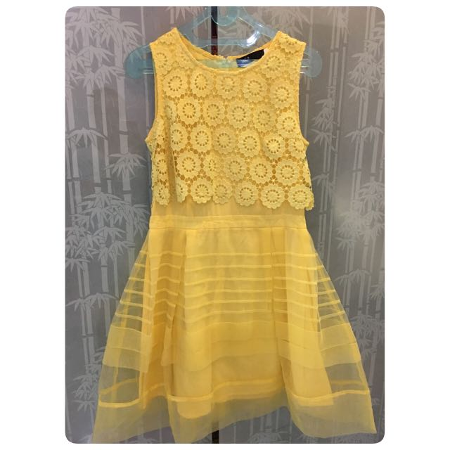YELLOW DRESS SZ 1