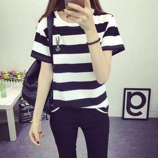 [PO] – Sailor Stripes Rabbit Shirt Top *Classic*