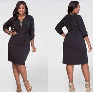 Plus-sized Dress