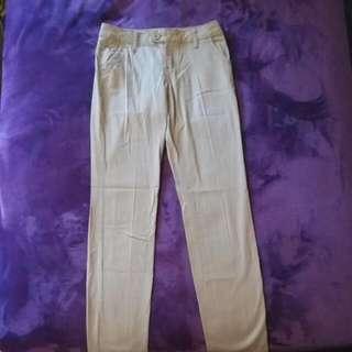 Beige Pants: Size 0