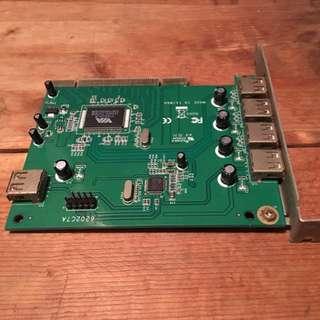 Uptech USB 2.0 擴充卡