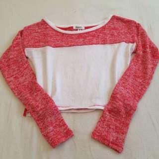 Aeropostale Crop Sweater