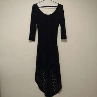 Autumn Black Dress