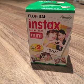 Fujifilm Instax Mini Instant Film, Twin Pack (20 Exposures)