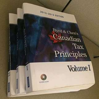 Byrd & Chen - Canadian Tax Principles 2012-13