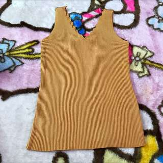 Knitted Sleeveless Blouse