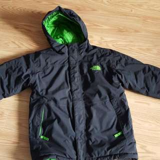 Boys North Face Winter Coat Size M 10/12