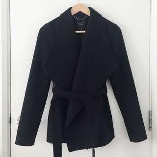 *Portmans* Status Black Jacket Coat Size 6