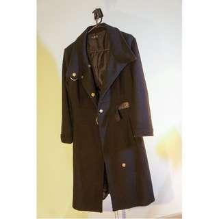 Size 8 Glasson's Black Jacket / Coat