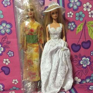 (Reserved) Barbie Dolls