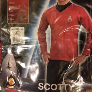 Star Trek Halloween Costume Scotty