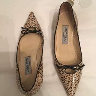 Jimmy Choo Leopard Shoes 🐱OBO$