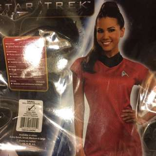 BNIB Uhura Star Trek Costume