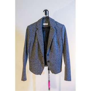 Size 8 SEED Heritage Tweed Blazer