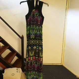 Multicolour Maxi Dress