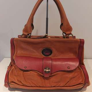 Chloe Camel Leather Bag