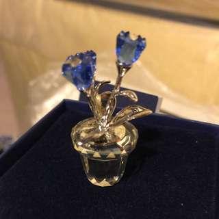 BNIB Swarovski Flower Crystal