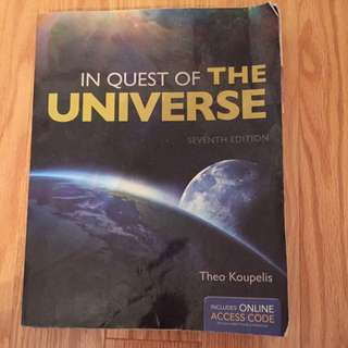 In Quest of the universe 7th Edition Textbook