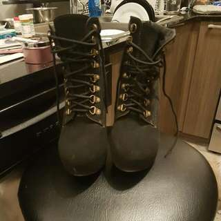 Black Timz Look At Like Boots
