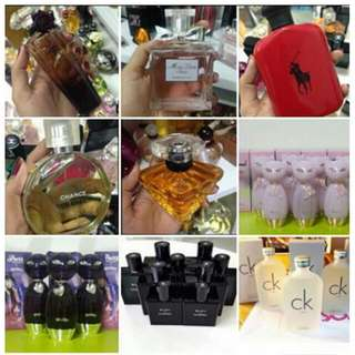 These are Dubai tester perfumes 90-97% same as the one being sold in the malls,to no difference at all.Most of these perfumes are for testing purposes only thats why its cheaper, however most perfumes have an available branded packaging.