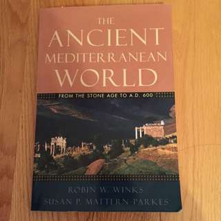 The Ancient Mediterranean World Textbook