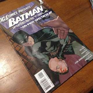 Batman : Irresistible (one Shot)
