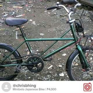 Minibelo Japanese Bike
