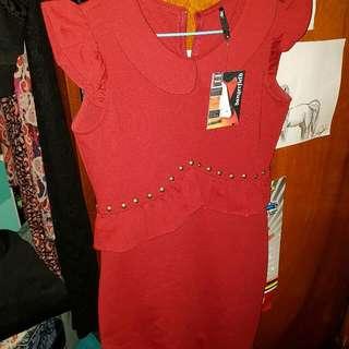 Fl Pretty Peplum Dress